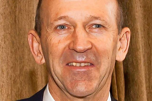 Bürgermeister Christian Behringer wirft Hut erneut in den Ring