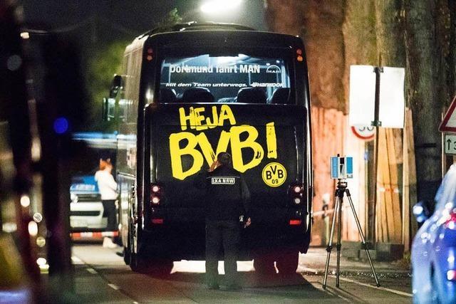 Anschlag auf BVB-Bus: Angeklagter gesteht und bestreitet Tötungsabsicht