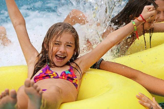 Mehr als 300 000 Besucher kamen 2017 ins Weiler Hallenbad Laguna