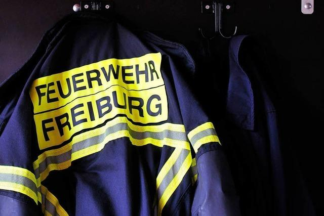 Security-Mann nach Brand in Freiburger Asylunterkunft leicht verletzt