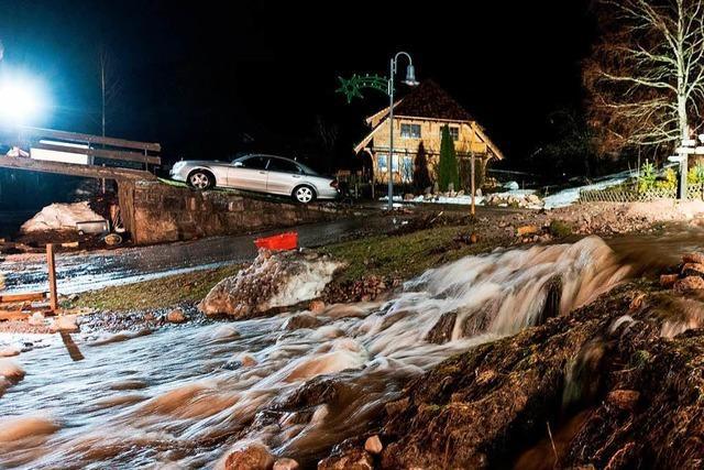 Nach Hochwasser: Stadt St. Blasien richtet Spendenkonto ein