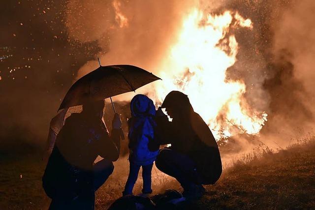 Rheinfelden: Berggeister fürchten ums Fasnachtsfeuer
