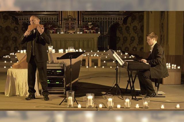 Oscar Javelot und Ensemble in St. Märgen