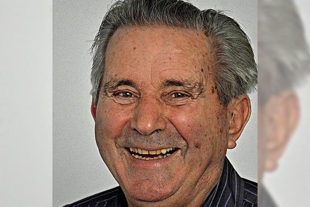 Früherer Stadtrat Rieger feiert in Weil seinen 80. Geburtstag