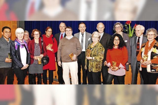 Katholische Gemeinde ehrt Perukreis