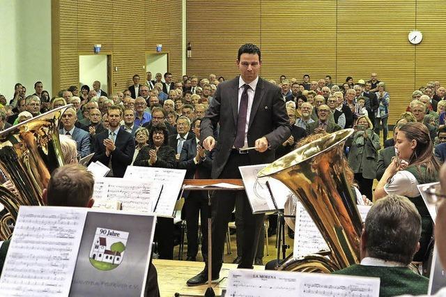 Neuer Dirigent am Werk