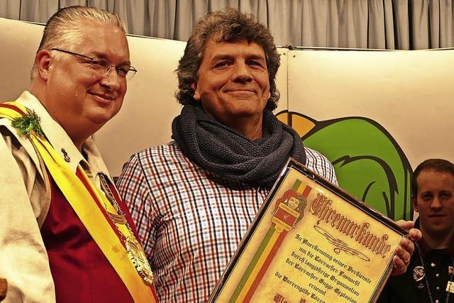 Claudio Burger geht als Ehrennarr