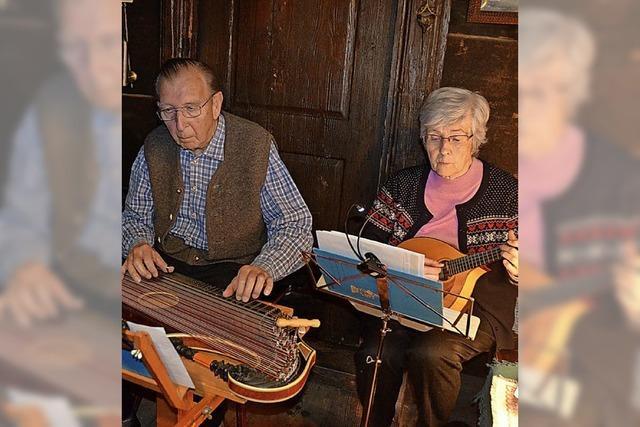 Stubenmusik zog viele Besucher an