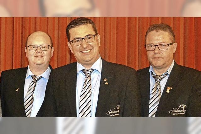 Trio führt Zeller Stadtmusik