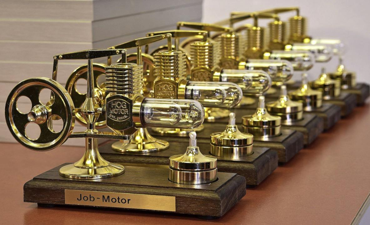 Diese Jobmotoren gibt es beim Wettbewerb zu gewinnen.  | Foto: Thomas Kunz