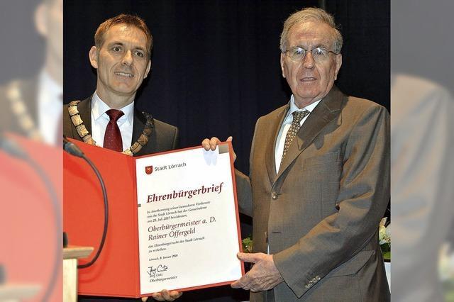 Alt-OB Offergeld ist Ehrenbürger