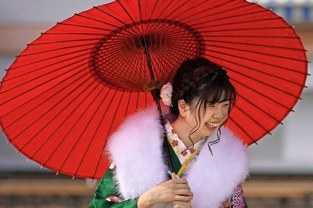 Japans 20-Jährige feiern die Volljährigkeit