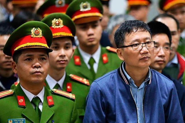 Bundesregierung wirft Vietnam Menschenraub vor