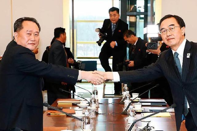 Nordkorea will hohe Delegation zu Winterspielen schicken