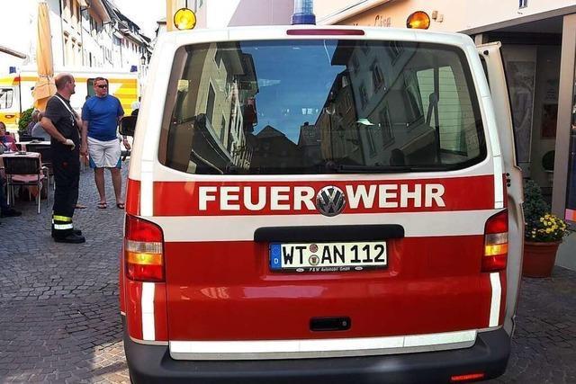 Freiwillige Feuerwehr Bad Säckingen erhält Stratz-Preis der BZ