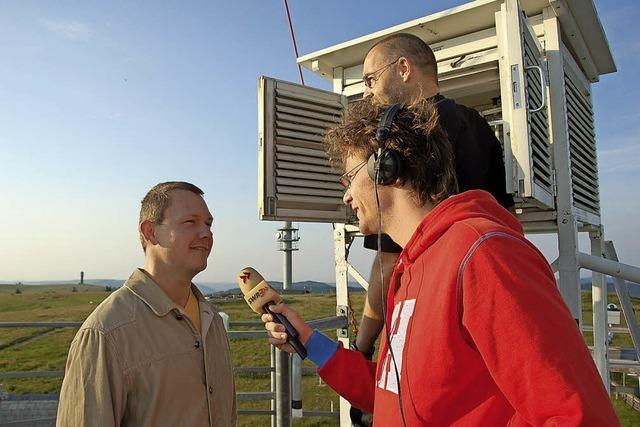 Wetterstation auf dem Feldberg sendet wieder Daten