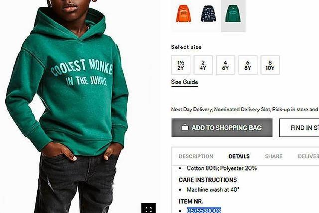 Rassismus-Vorwürfe gegen H&M: Dunkelhäutiger Junge im