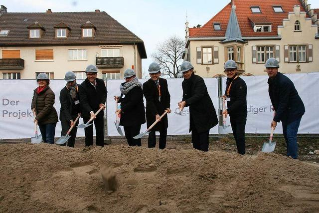 Spatenstich für 14-Millionen-Projekt in der Schopfheimer Stadtmitte