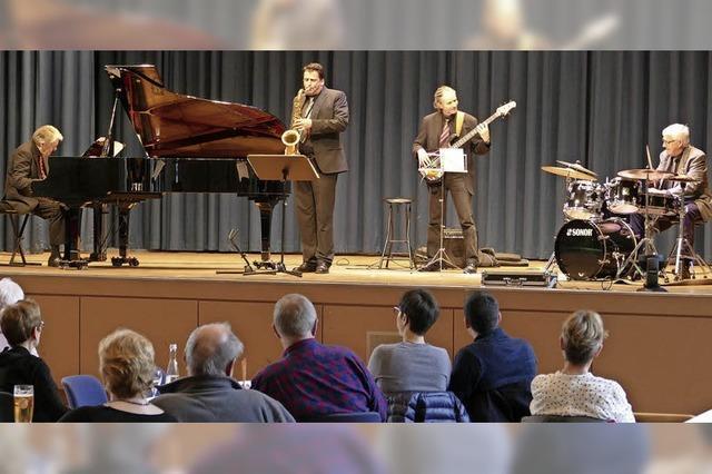Ein ganz relaxter Jazz-Nachmittag beim Winterfestival im Kurhaus