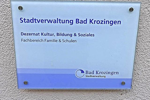 Was änderte sich mit der Umstrukturierung des Bad Krozinger Rathauses?