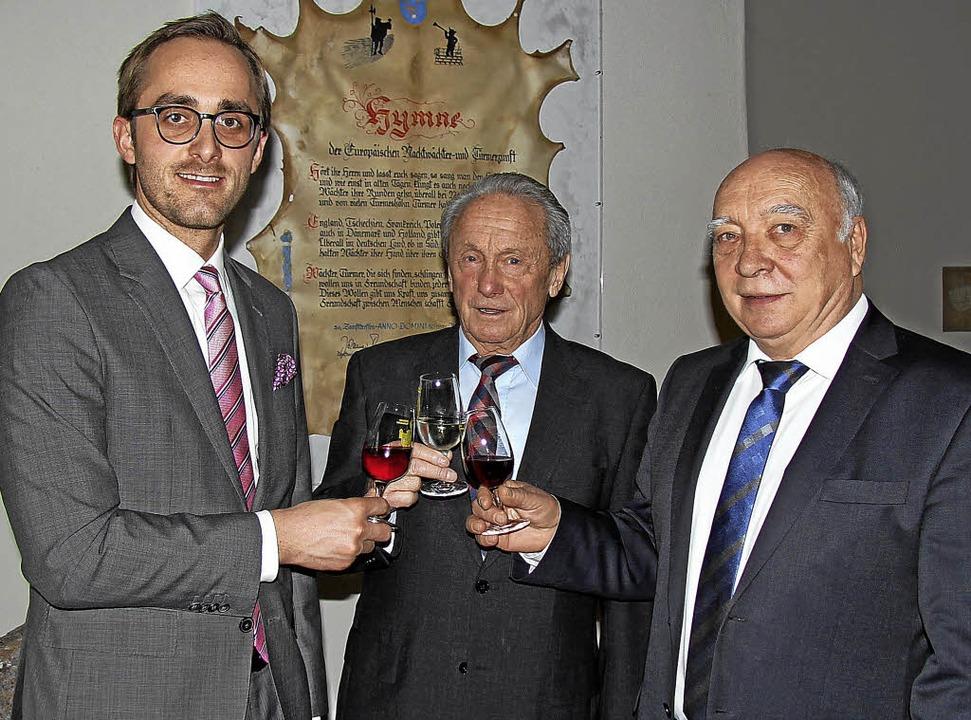2018 stehen wichtige Entscheidungen zu... Burkheims Ortsvorsteher Herbert Senn.  | Foto: Herbert Trogus