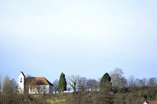 Die Bergkirche von Opfingen
