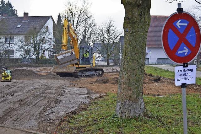 Bauarbeiten am Bahnhof gestartet