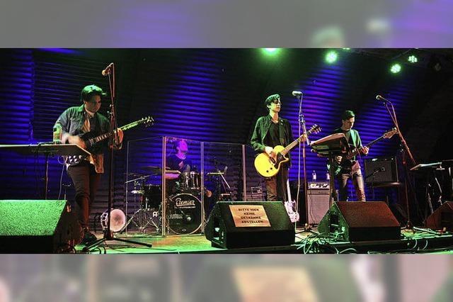 Aus dem Bandkeller auf die Bühne