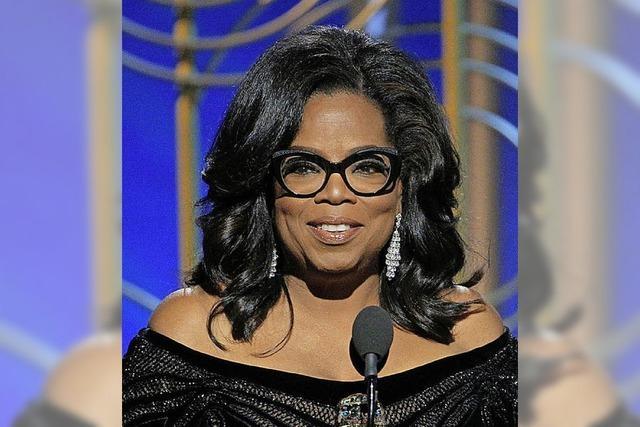 Rufe nach einer Präsidentin Oprah Winfrey