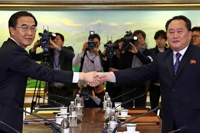 Die Koreas nähern sich an