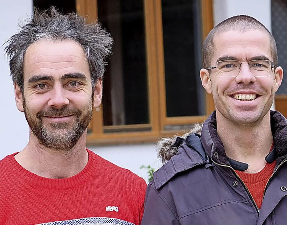 Johannes Supenkämper (l.) und Thomas Rippel  | Foto: Martin Pfefferle