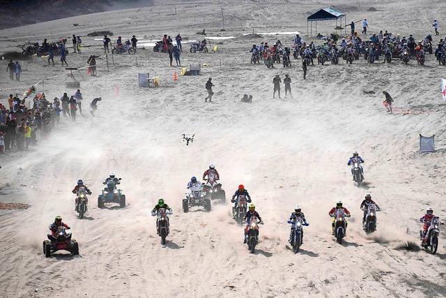 Die Rallye Dakar durch Südamerika