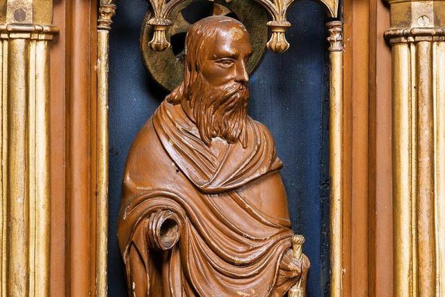 Apostelfigur aus dem Freiburger Münster gestohlen