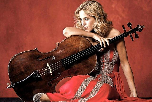 Argentinische Cellistin Sol Gabetta im Konzerthaus