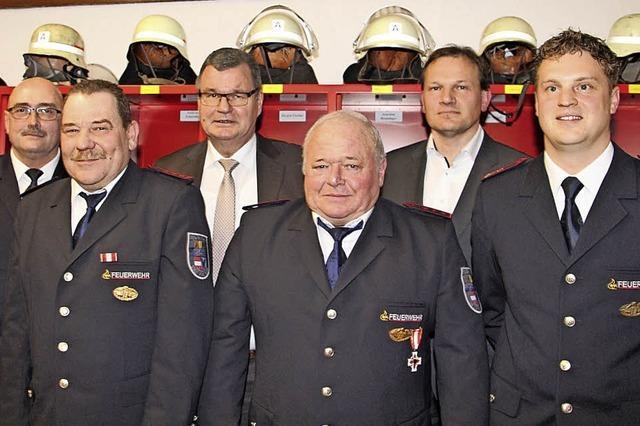 Zusammen fast 150 Jahre Ehrenamt