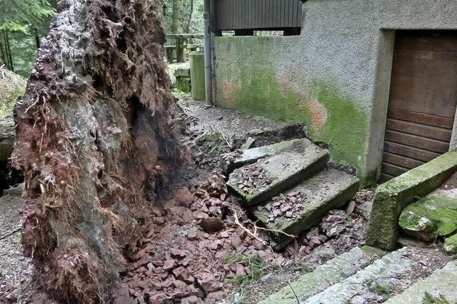 Ankele-Hütte beschädigt