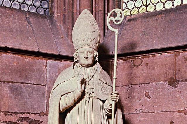 Büste, Tafel oder Standbild: Denkmäler für Freiburgs Erzbischöfe