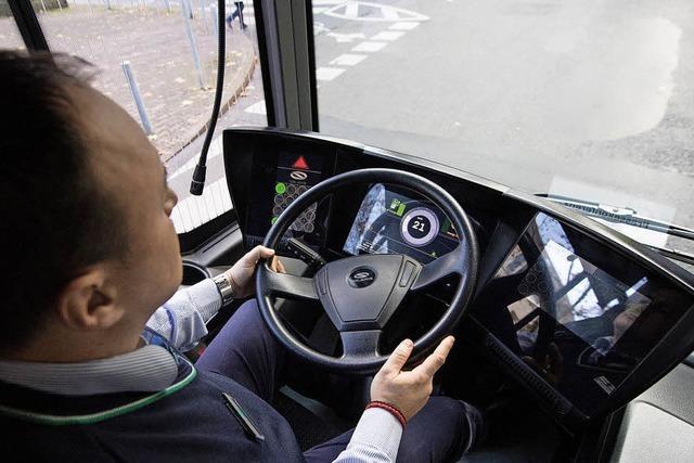 Noch gibt es Busfahrer