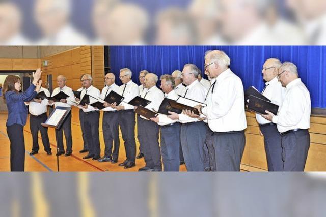 Der kleine Chor ist zufrieden nach großen Auftritten