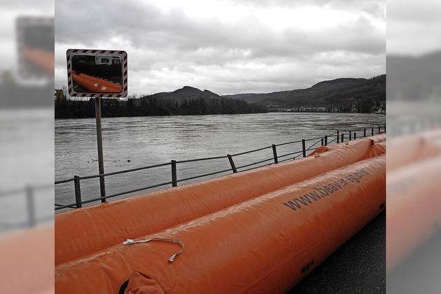Hochwasserschutzmauer steht frühestens 2021