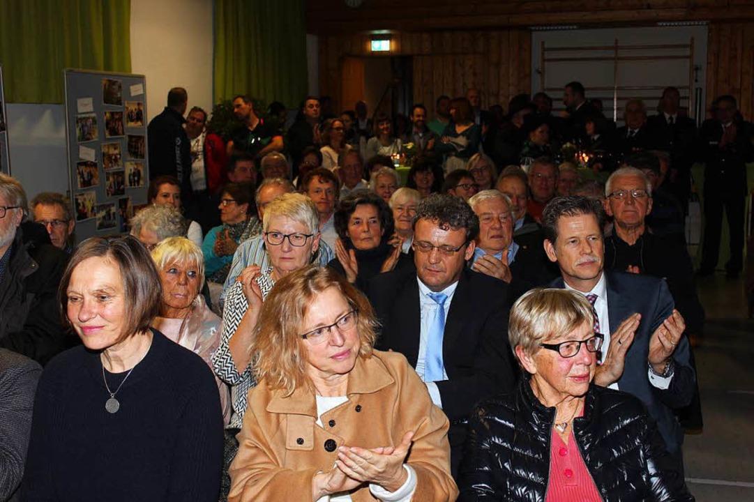 Der Gottenheimer Neujahrsempfang in der kleinen Turnhalle war gut besucht.  | Foto: Mario Schöneberg