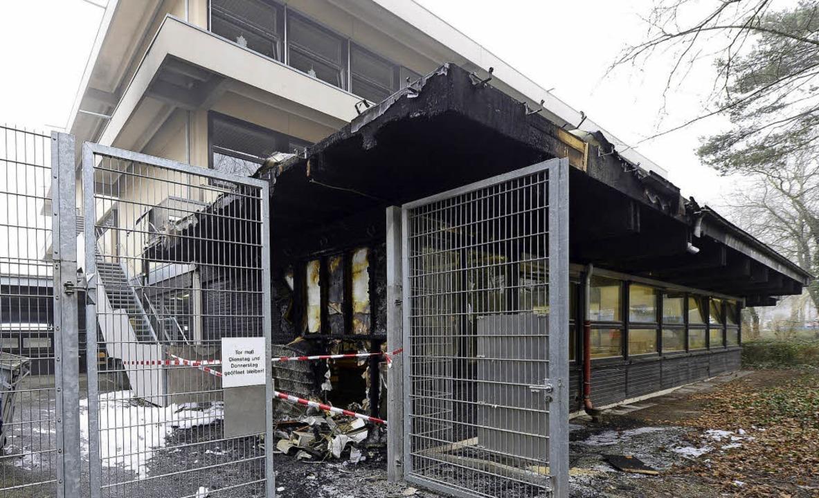Der Anbau der Albert-Schweitzer-Schule...eit abgerissen und neu gebaut werden.   | Foto: ingo Schneider
