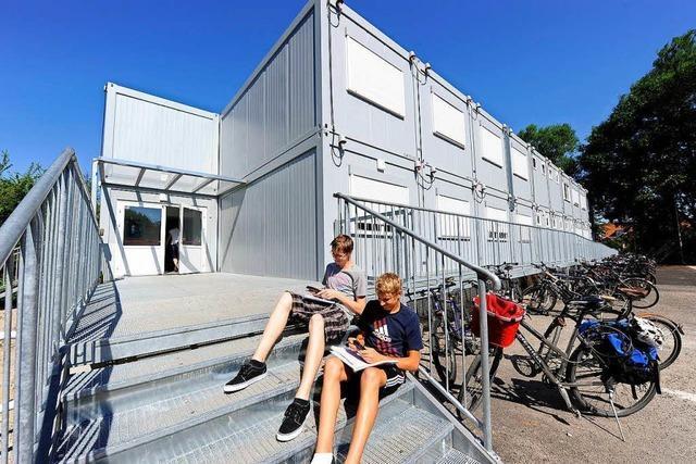 Unterrichten Schulen in Titisee-Neustadt bald im Container?