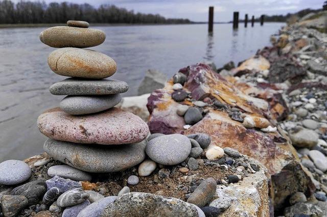 Steinkunst am Wegesrand