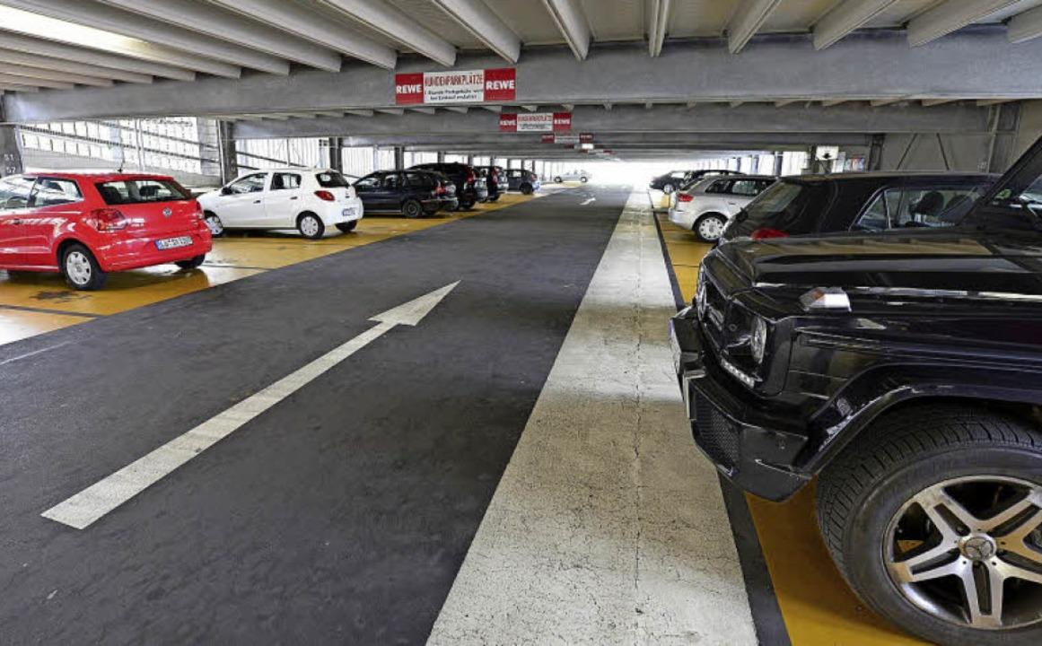 Der Autofrei-Verein möchte ungenutzte ...olargarage ist frei zugänglich (Foto).  | Foto: Ingo Schneider