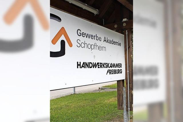 Land unterstützt Modernisierung der Gewerbeakademie