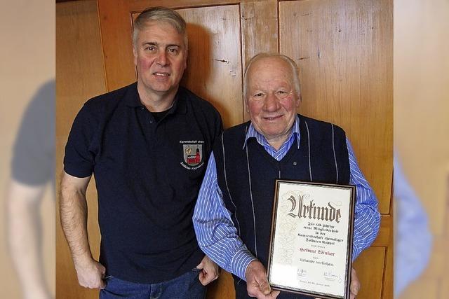 Kameradschaft wählt Roland Berr zum Vorsitzenden