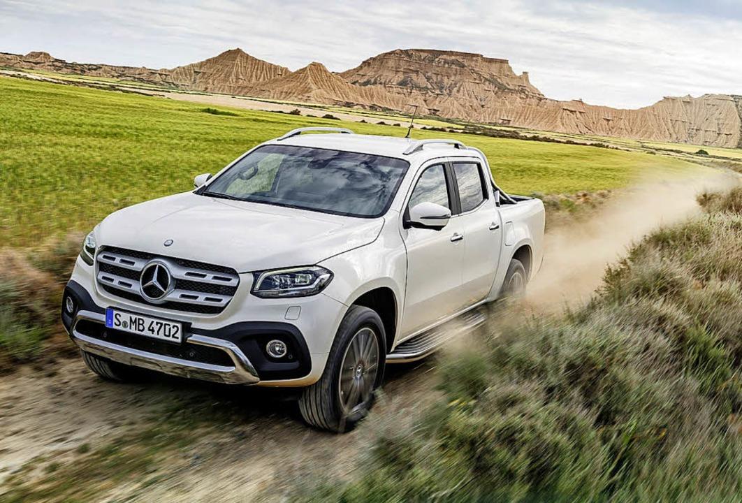 Lademeister mit Stern und Luxus-Anspru...asse gibt es seit November zu kaufen.     Foto: Daimler/dpa