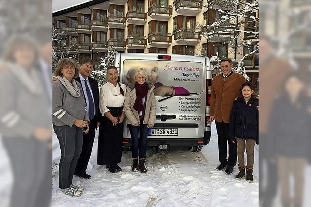 Neuer Bus für Senioren