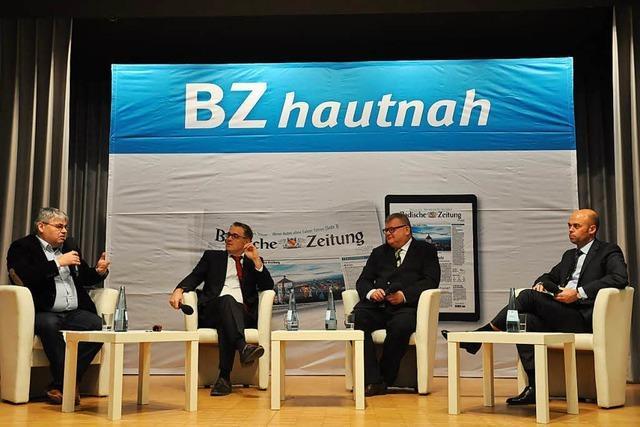BZ-Podiumsdiskussion liefert lebhafte Debatte unter den Kandidaten